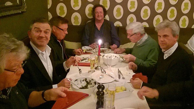 Horst Bockemüller, Holger Willies, Lothar Ihle, Hans-Georg Schubert, Karl-Heinrich Belte und Andreas Konschak