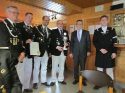 Siegermannschaft MTV VJP  Bürgermeisterpokal 2014