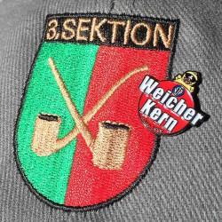 Wappen 3. Sektion mit Pin Weicher Kern